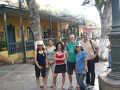 Visiting Barranco, Lima